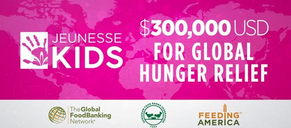 เจอเนสส์ โกลบอล บริจาค $300,000 USD เพื่อช่วยต่อสู้กับวิกฤติความหิวโหยทั่วโลกให้กับองค์กรธนาคารอาหารโลก (The Global Food Banking Network-GFN)